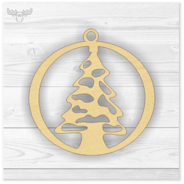 Holz-Christbaumschmuck Weihnachts-Tannenbaum