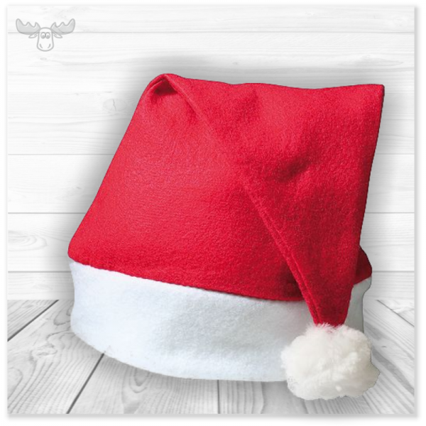 Weihnachtsmütze Filz | Give Away für Weihnachtsfeiern