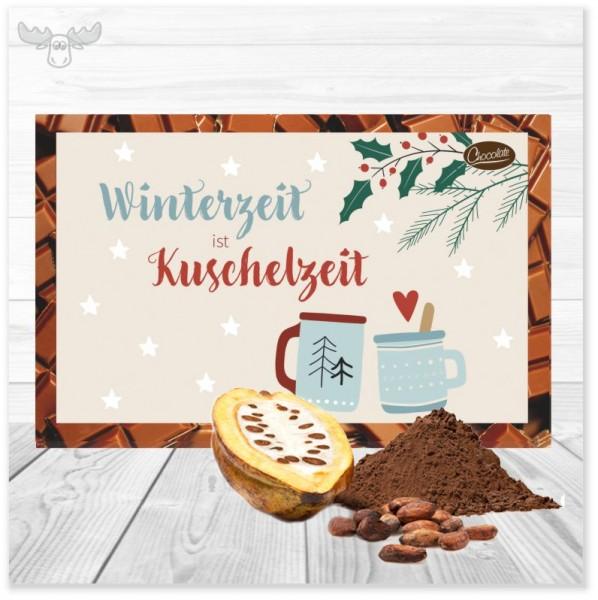 Kakaokarte Kuschelzeit für den leckeren Weihnachtsgruß