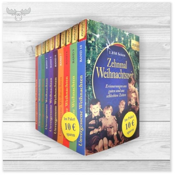 Weihnachtsbücher Band 1-10 im Schuber