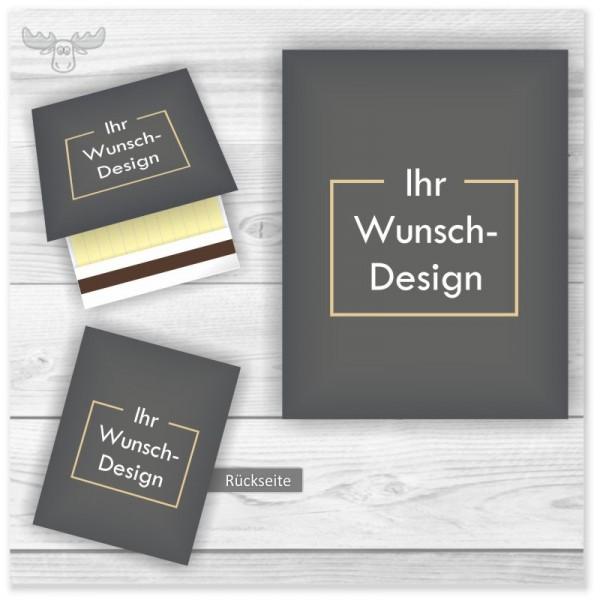 Streichholzbriefchen in Ihrem Design bedrucken lassen