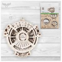 3D Holzpuzzle mechanisch | Mechanische 3D Holzpuzzle Datumsnavigator