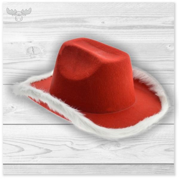 Cowboyhut Weihachten für Ihre Party