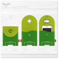 Filz-Ladestation Fußball