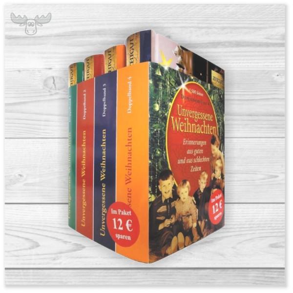 Weihnachtsbücher Unvergessene Weihnachten - Band 1-4 in Schuber