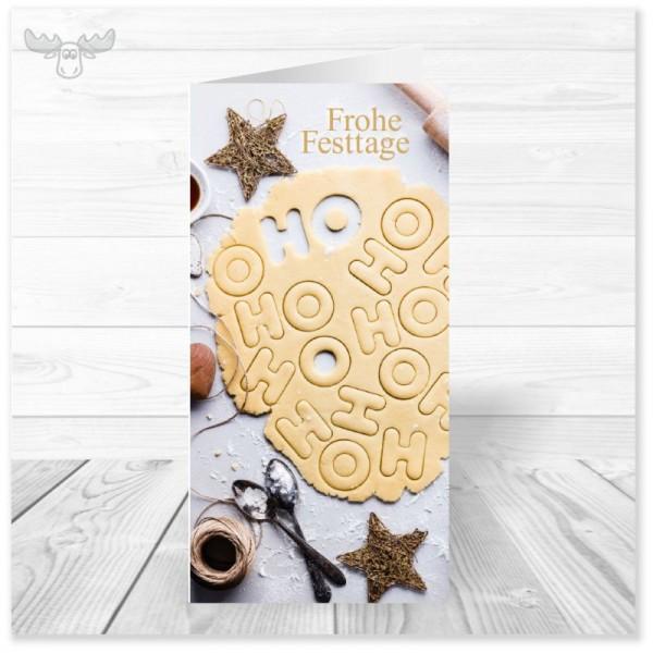 Weihnachtskarten mit Plätzchenmotiv für Ihre Weihnachtspost