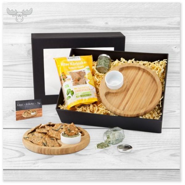 Geschenke-Set Snacken und Dippen