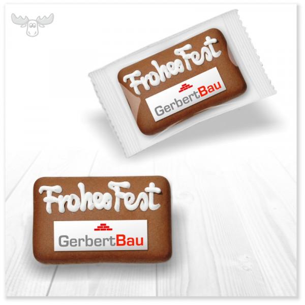Logo-Lebkuchen: Leckere Lebkuchen mit Firmenlogo bedrucken lassen - vollständig individualisierbar