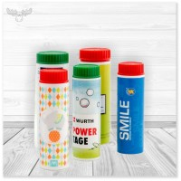 Seifenblasen für Ihre Werbung mit Verpackung im Wunschdesign