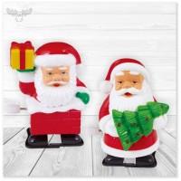 Laufender Weihnachtsmann zum Aufziehen