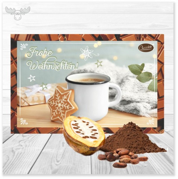 Kakaokarten Plätzchenzeit für den leckeren Gruß an Ihre Kunden