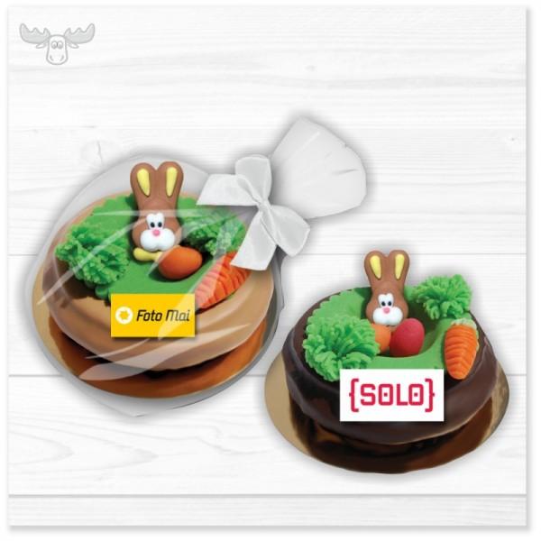 Baumkuchen-Ring mit Osternest