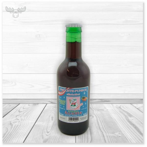 Frucht-Glühwein ohne Alkohol in Mini-Flaschen (250 ml)