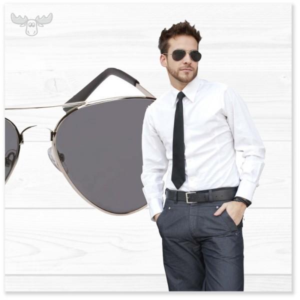Fliegerbrille: Cooles Outfit