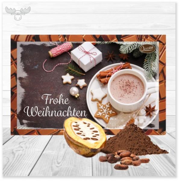 Leckeren Kakao per Post versenden: Kakaokarte Weihnachtsgebäck