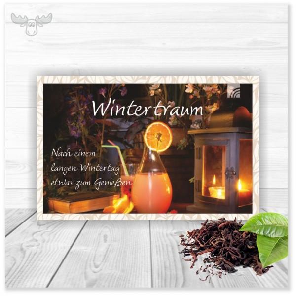 Teekarten Wintertraum