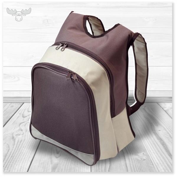 Picknick-Tasche als Rucksack: bequemes Tragen