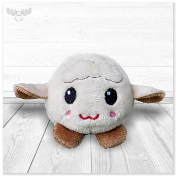 Plüschtier-Schaf mit Bildschirmreiniger-Funktion - süßes Kuscheltier zu Ostern