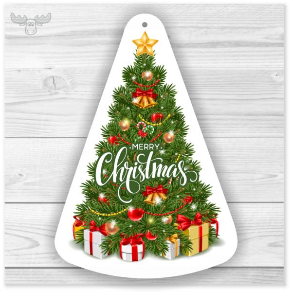 Duftbaum und Duftanhänger Weihnachten Motiv Weihnachtsbaum
