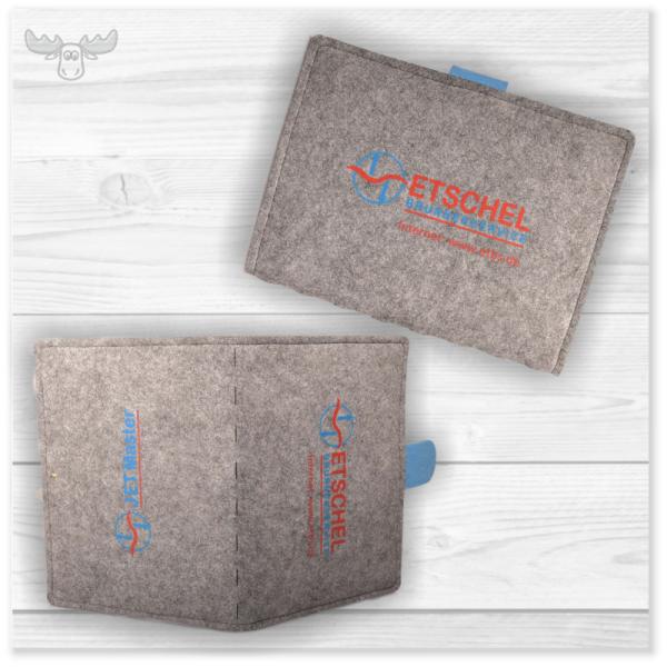 Tablet-Tasche mit Aufstellfunktion - praktisch