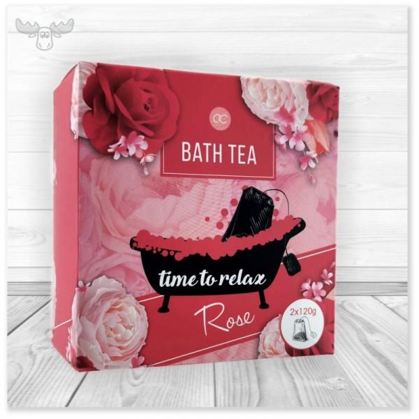 Badetee Rose - Time to Relax - Teebad-Badezusatz