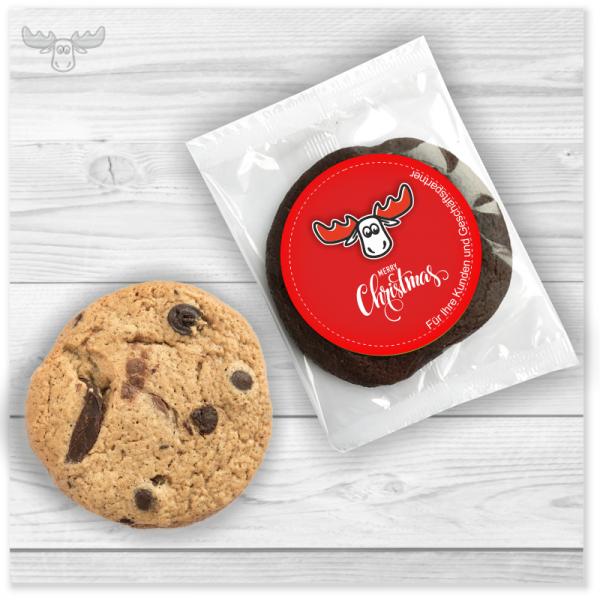 Weihnachtskekse für Kunden - Leckere Bio-Cookies