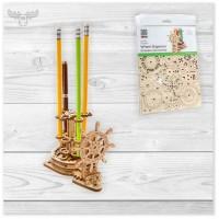 Mechanische 3D Holzpuzzle - Rad-Organizer