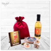 Geschenkset Glühwein: tolle Geschenkidee mit Mini-Stollen