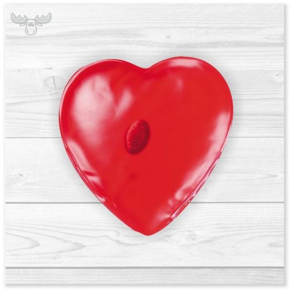 Handwärmer Gel-Wärmekissen - Motiv Herz