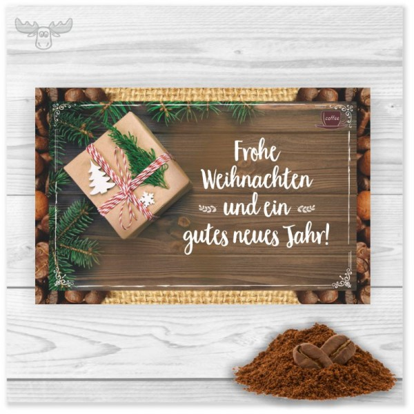 Kaffeekarten Tannen-Geschenk