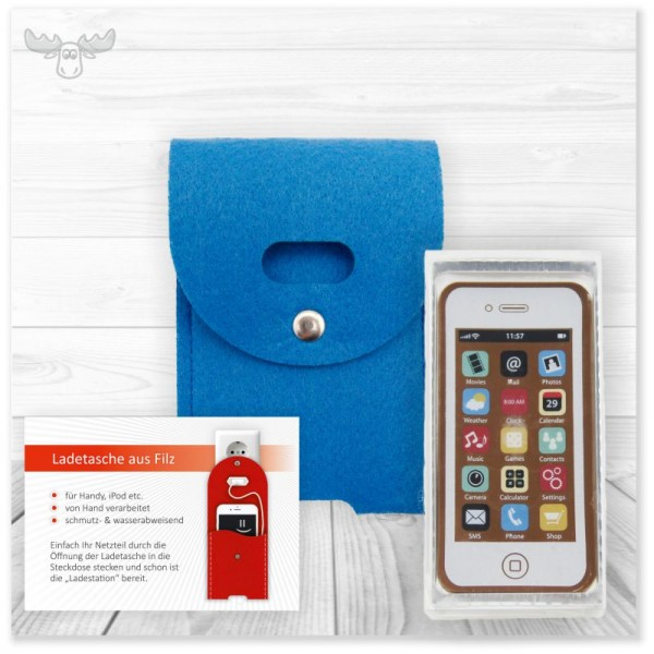 Kundenpräsent Smartphone - Geschenke-Set rund ums Handy