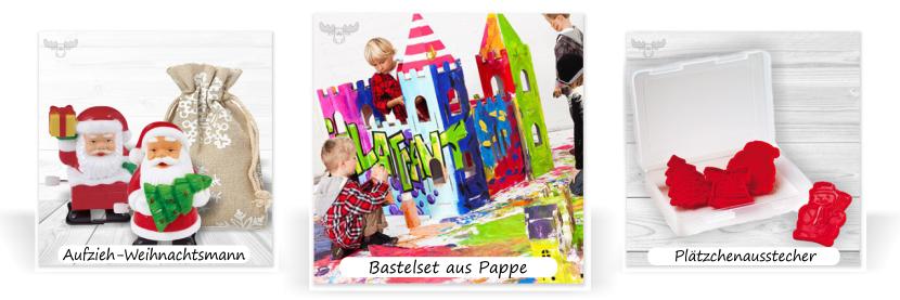 Bastel-Sets, Plätzchenausstecher und vieles mehr für den Kindergarten