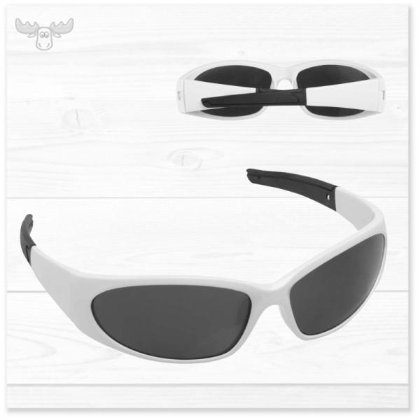 Sonnenbrille Sport: Vorder- und Rückansicht